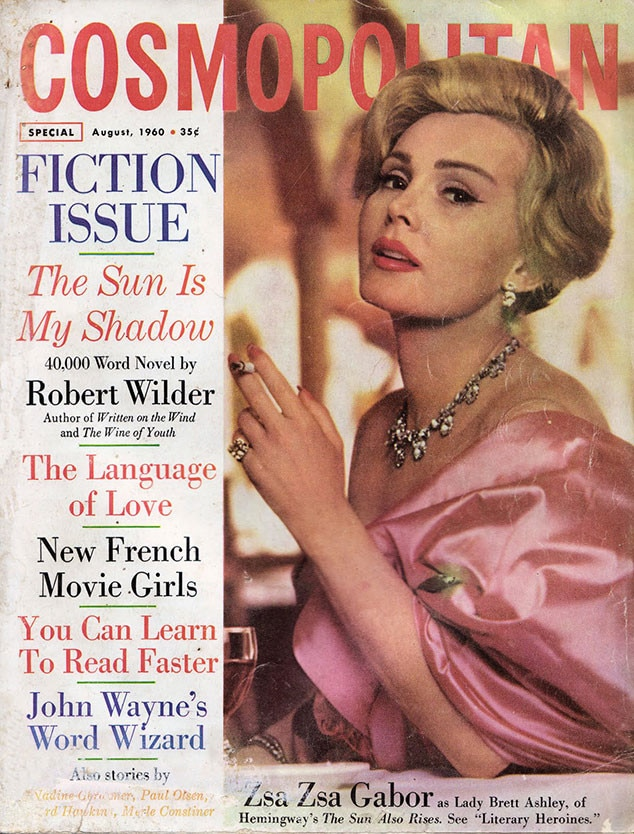 Zsa Zsa Gabor From Cosmopolitan: 50 Years Of Cover Stars