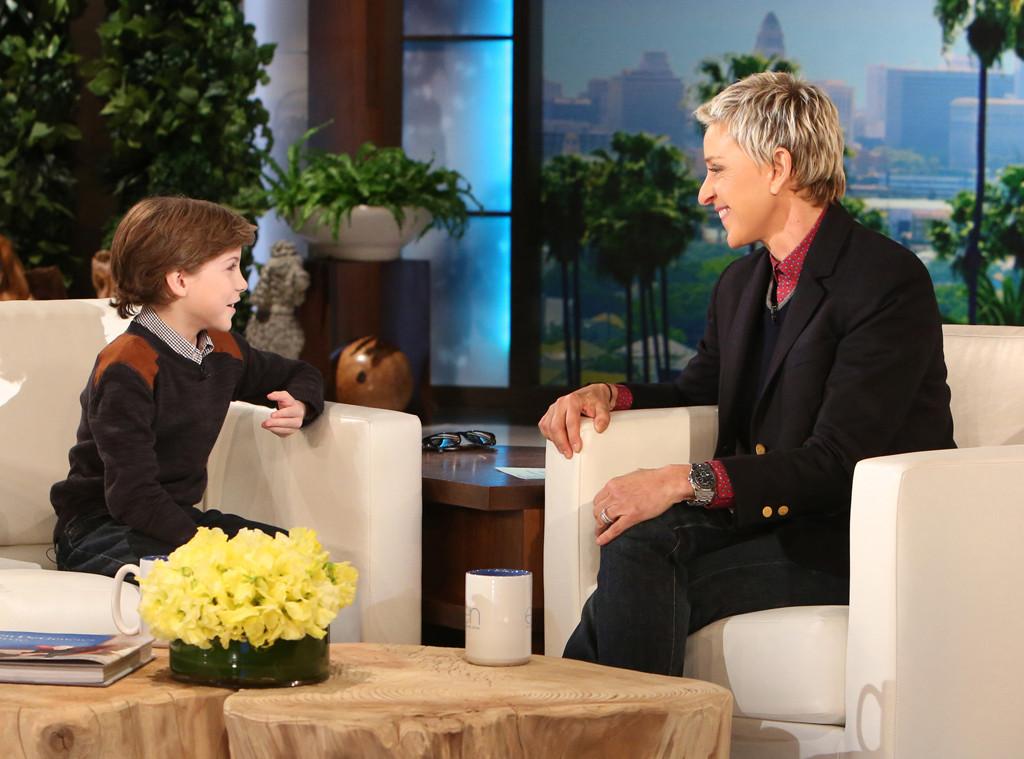 Jacob Tremblay, Ellen DeGeneres