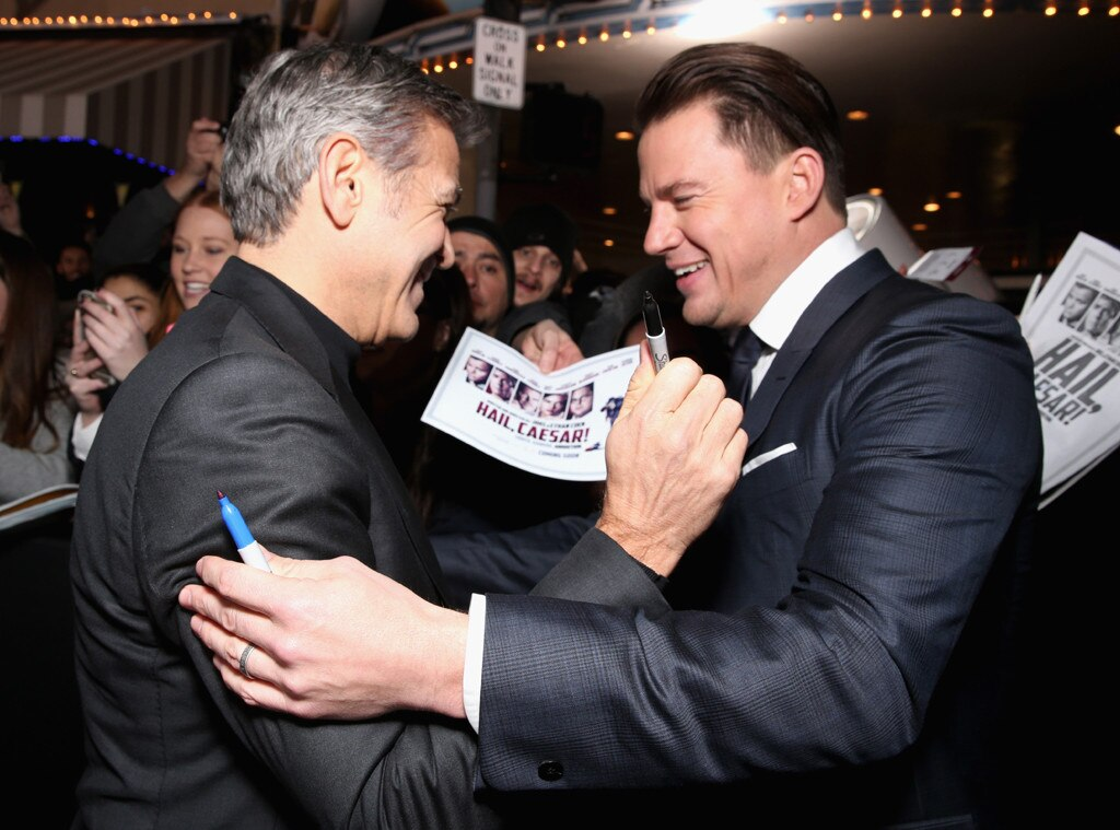 George Clooney, Channing Tatum