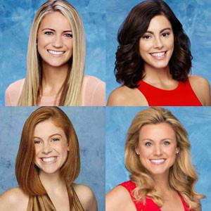 Ashley S, Lace, Tiara, Michelle, Bachelor