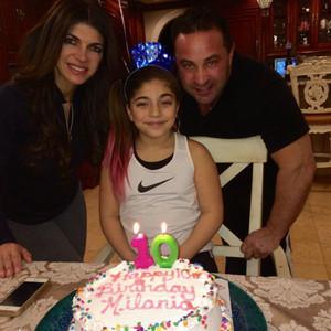 Teresa Giudice, Milania, Birthday