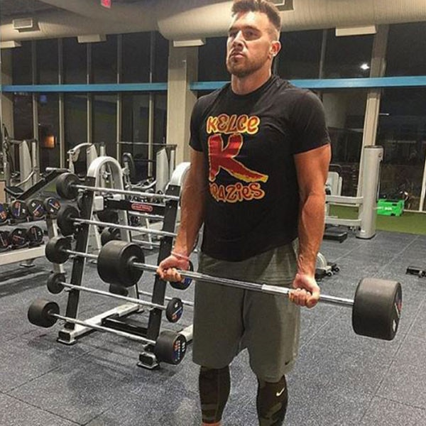 Iron Gym Lisburn Instagram: Pumping Iron From Travis Kelce's Hottest Instagrams