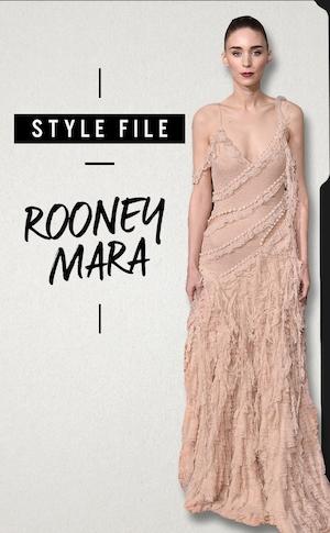 ESC, Rooney Mara, Style File