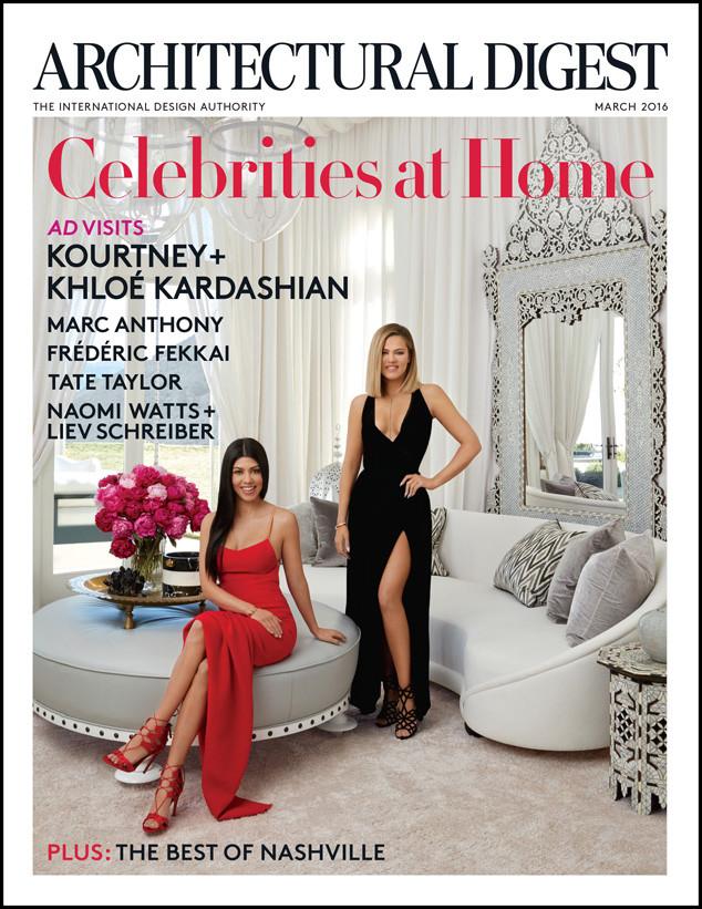 Architectural Digest Khloe Kardashian