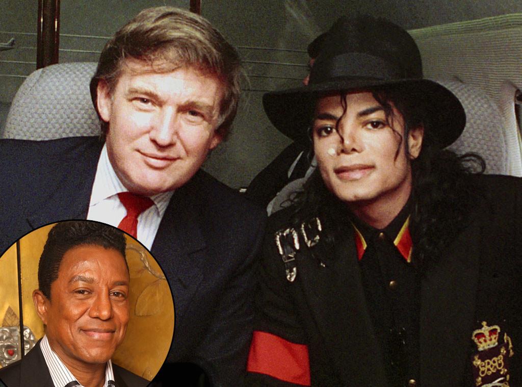 Michael Jackson, Donald Trump, Jermaine Jackson