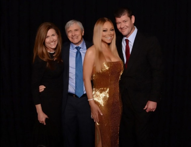 Mariah Carey, James Packer, Kerry Stokes