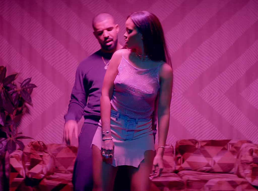 Drake, Rihanna, Work Video