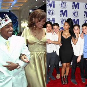 Celeb cameos at parties, Rihanna, Nicki Minaj