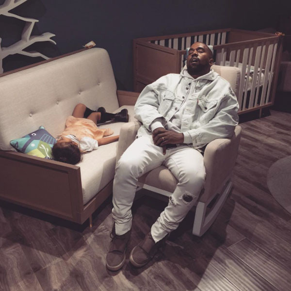 Kanye West, North West