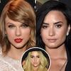 Taylor Swift, Demi Lovato, Kesha