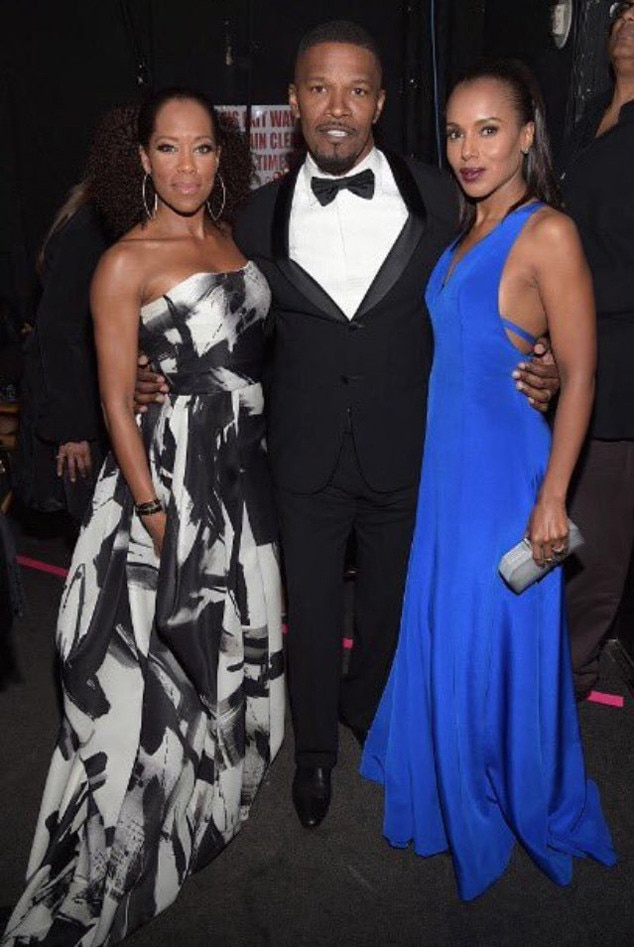 Kerry Washington, Regina King, Jamie Foxx