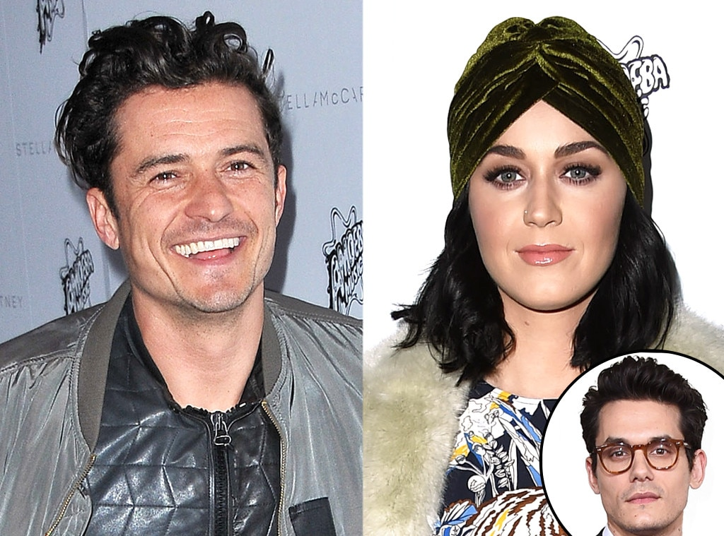 Katy Perry, Orlando Bloom, John Mayer