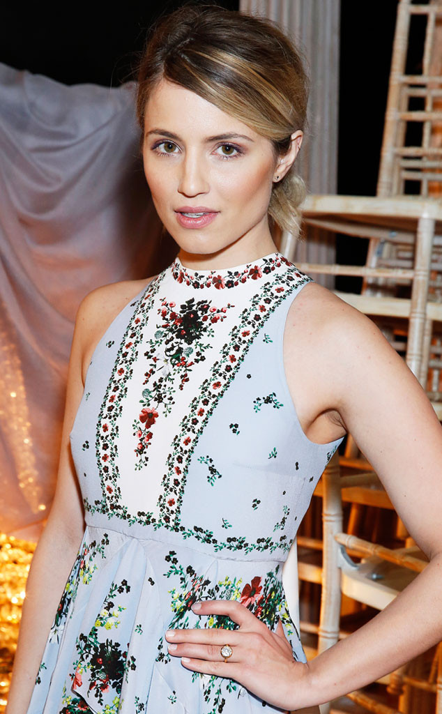 Dianna Agron Finally Shows Off Her Gorgeous Engagement