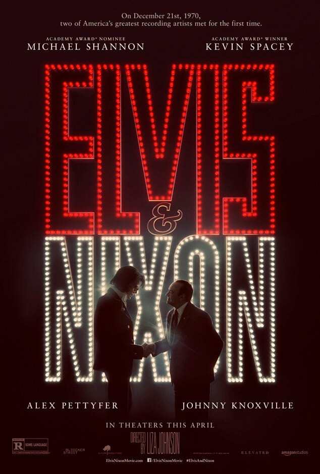 Elvis & Nixon from Movie Posters | E! News