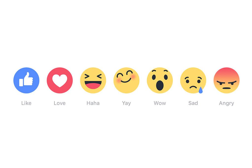 Facebook Reaction Buttons