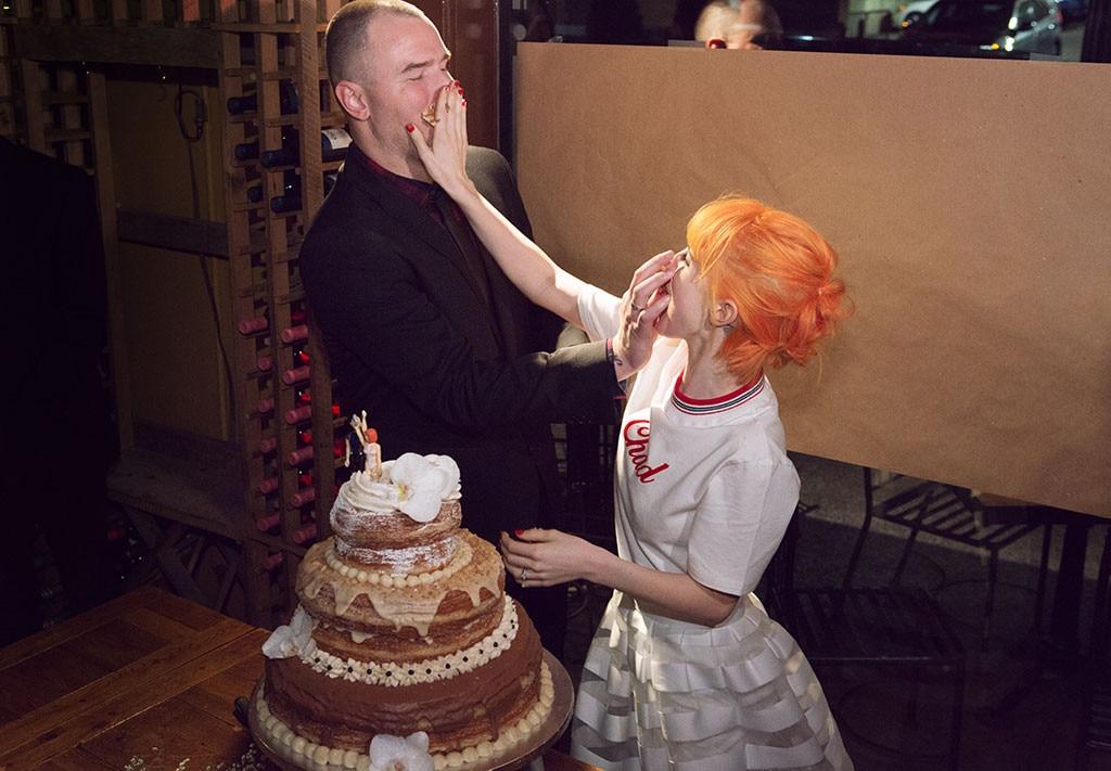 Hayley Williams Wedding Cake
