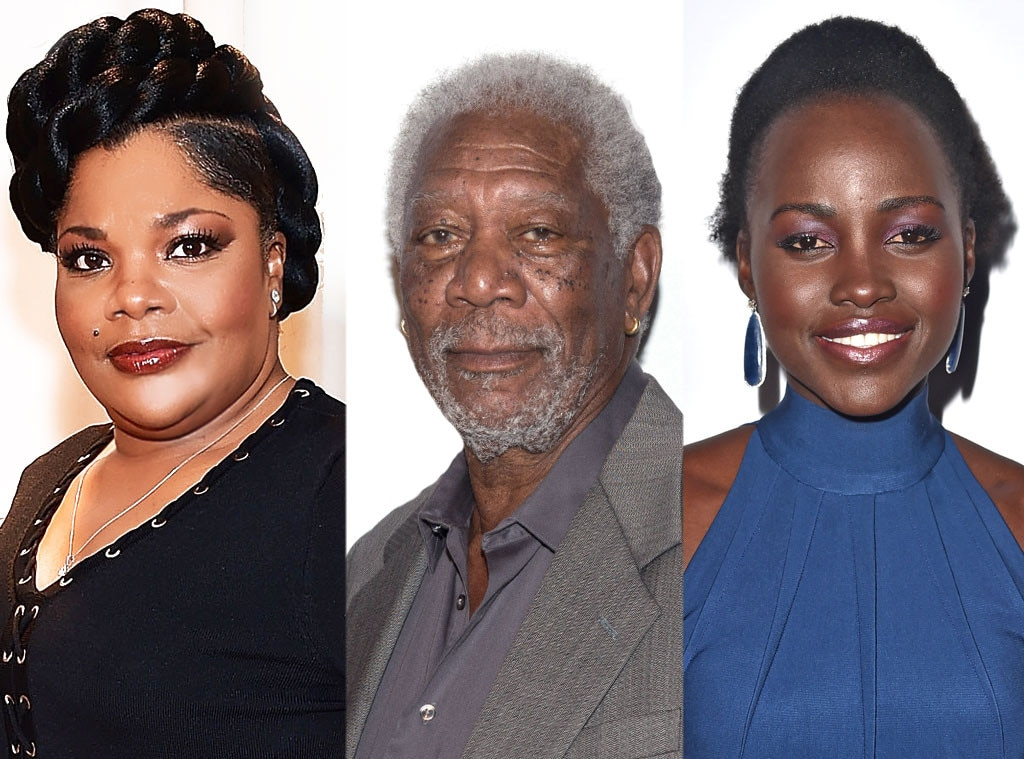 Mo'Nique, Morgan Freeman, Lupita Nyong'o