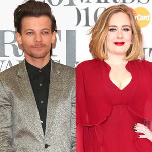 Louis Tomlinson, Adele, BRIT Awards