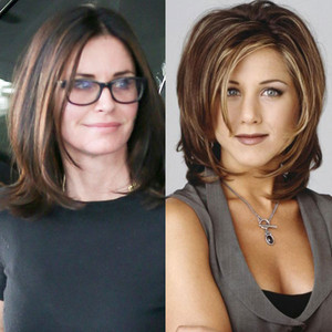 Jennifer Aniston, Courteney Cox, The Rachel Haircut