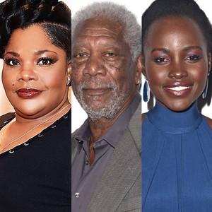 Mo'Nique, Morgan Freeman, Lupita Nyong'o