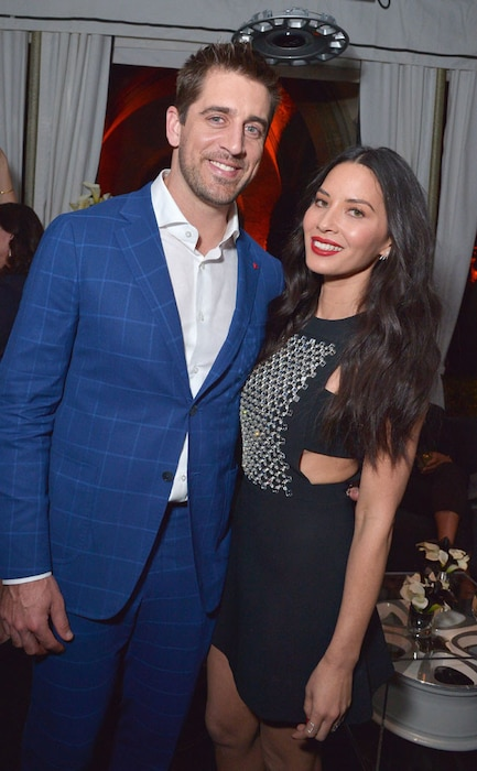 Vanity Fair Young Hollywood, Aaron Rodgers, Olivia Munn