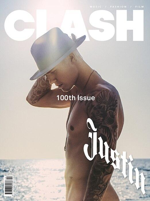 Justin Bieber, Clash Magazine