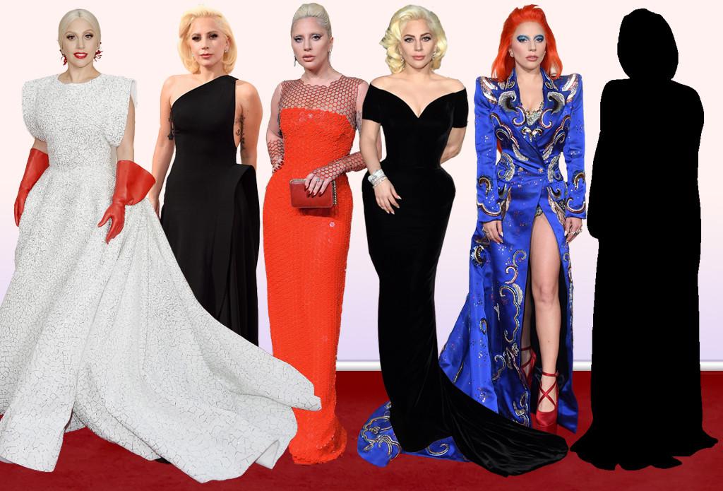 Lady Gaga, Awards Fashion Evolution