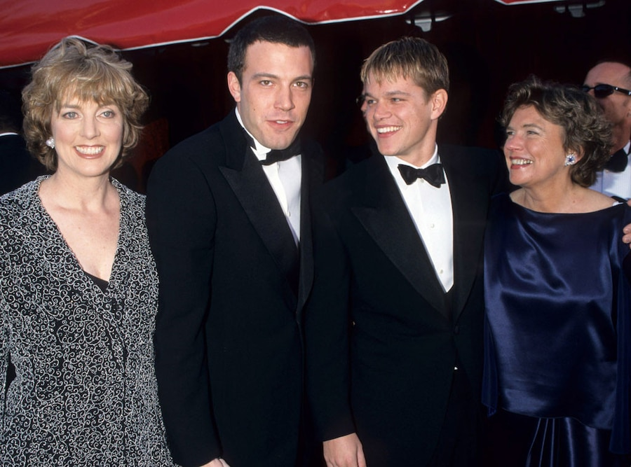 Chris Affleck, Ben Affleck, Matt Damon, Nancy Carlson-Paige, Oscars 1998