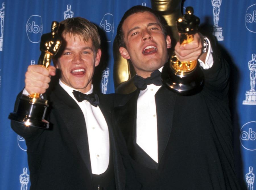 Ben Affleck, Matt Damon, Oscars 1998