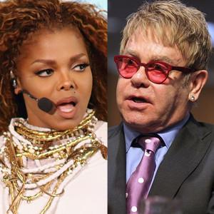 Janet Jackson, Elton John