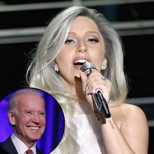 Lady Gaga, Joe Biden