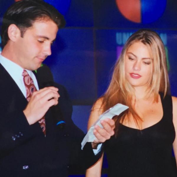 Carlos Ponce, Sofia Vergara, Instagram