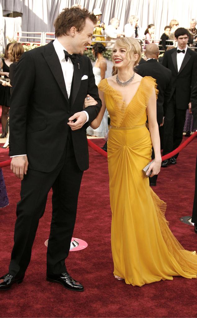 Oscar Couples, Heath Ledger, Michelle Williams
