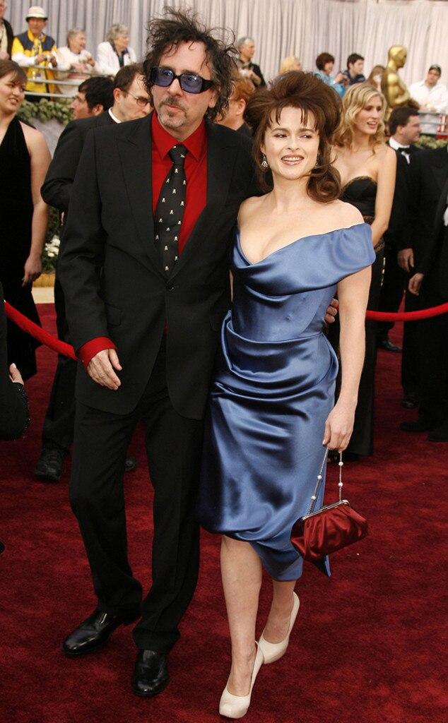 Oscar Couples, Tim Burton, Helena Bonham Carter