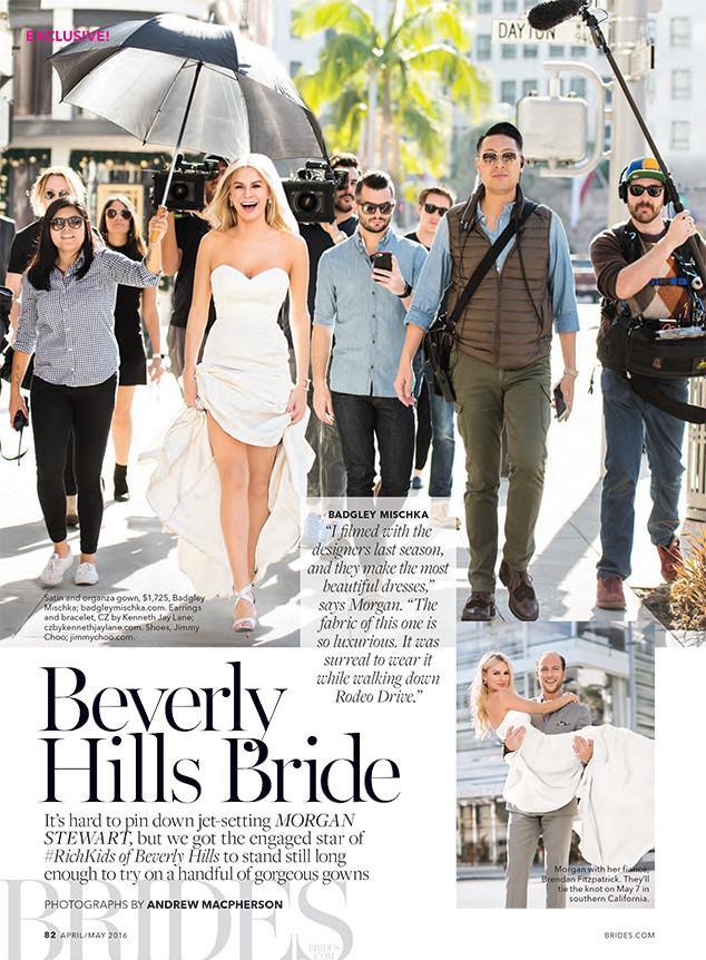 Morgan Stewart, Brides Magazine