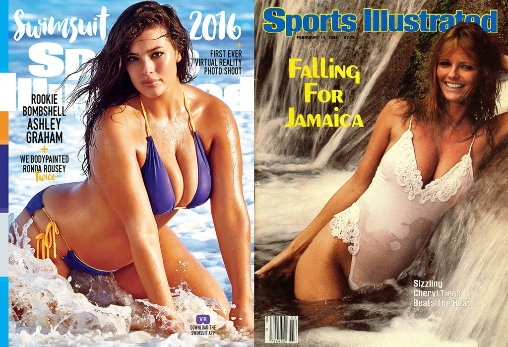 Ashley Graham, Cheryl Tiegs, Sports Illustrated Magazine