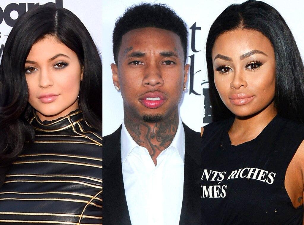 Kylie Jenner, Tyga, Blac Cyna