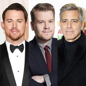 James Corden, George Clooney, Channing Tatum
