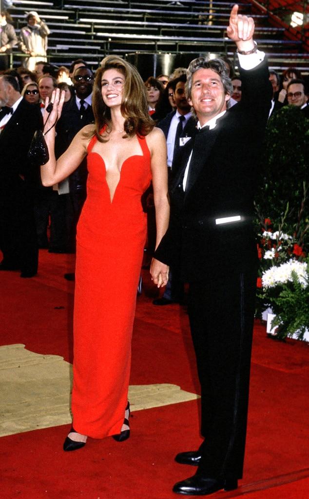 Oscar Couples, Cindy Crawford, Richard Gere