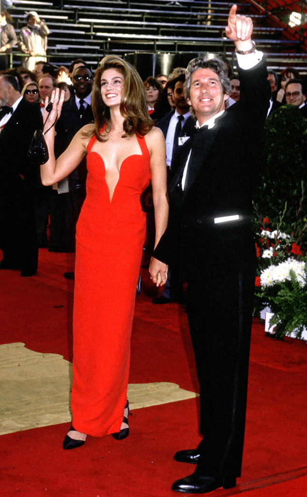 Oscar Couples, Cindy Crawford, Richard Gere