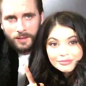 Scott Disick, Kylie Jenner, Snapchat