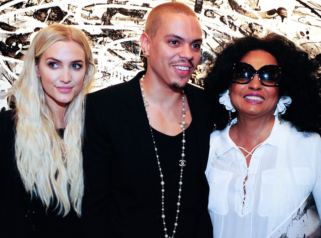 Ashlee Simpson Ross, Even Ross, Diana Ross