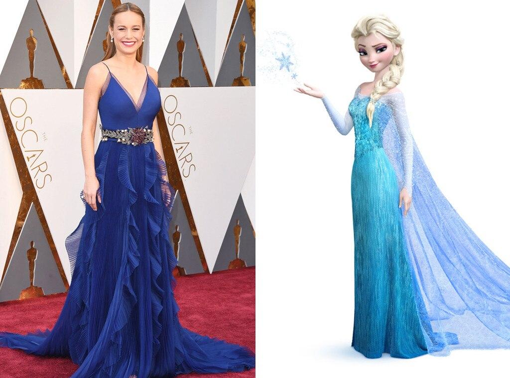 Brie Larson, Elsa, 2016 Oscars, Academy Awards