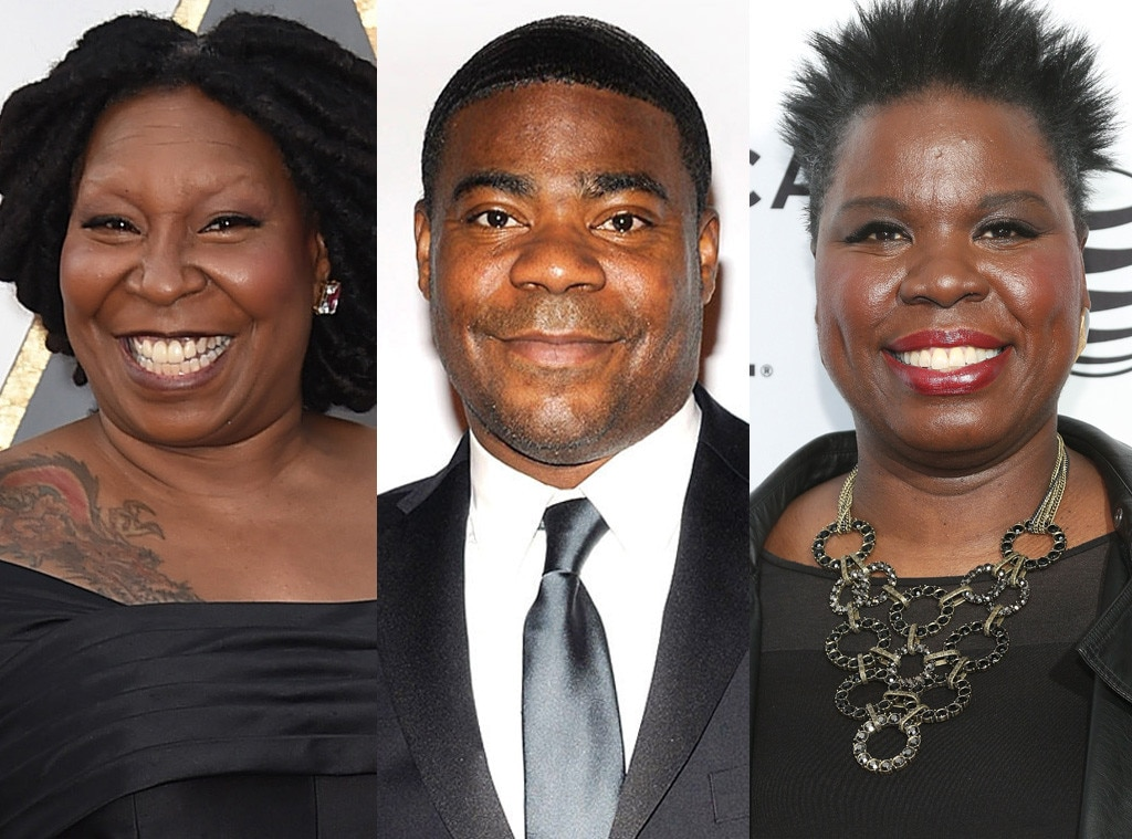 Leslie Jones, Whoopi Goldberg, Tracy Morgen