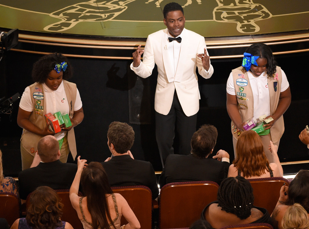 Chris Rock, Girl Scotts, 2016 Oscars, Academy Awards