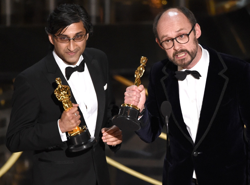 Asif Kapadia, James Gay-Rees, 2016 Oscars, Academy Awards, Winner