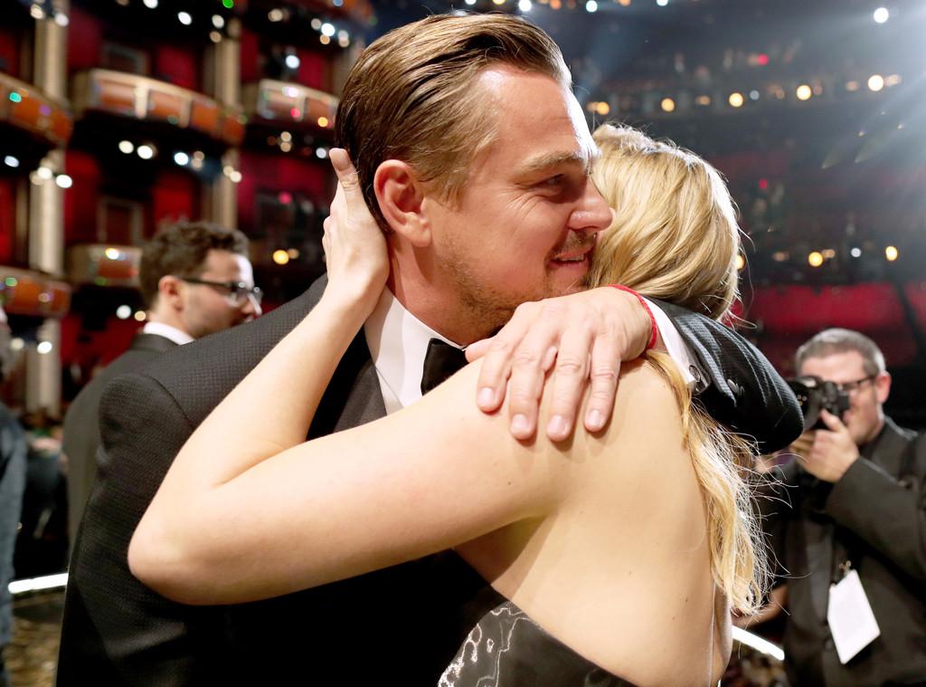 2016 Oscars, Academy Awards, Leonardo DiCaprio, Kate Winslet, Candids