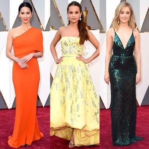 Olivia Munn, Alicia Vikander, Saoirse Ronan, 2016 Oscars, Academy Awards, Arrivals