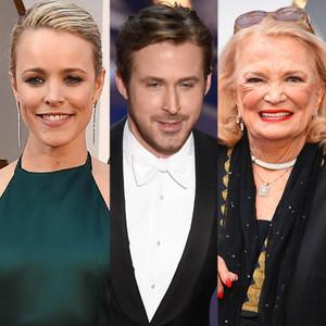 Rachel McAdams, Ryan Gosling, Gena Rowlands, 2016 Oscars, Academy Awards