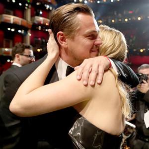 Leonardo DiCaprio, Kate Winslet, 2016 Oscars, Academy Awards, Candids